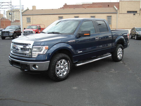 2014 Ford F-150 for sale at Shelton Motor Company in Hutchinson KS