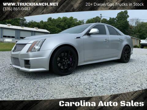 2013 Cadillac CTS-V for sale at Carolina Auto Sales in Trinity NC