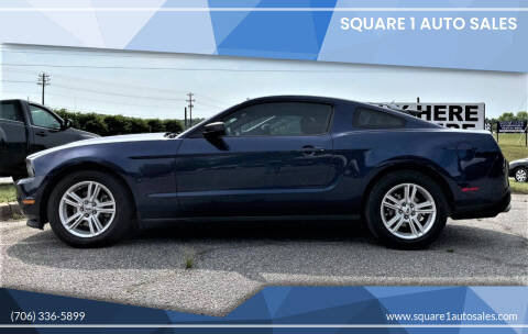 2011 Ford Mustang for sale at Square 1 Auto Sales - Commerce in Commerce GA