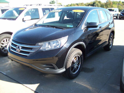 2014 Honda CR-V for sale at Summit Auto Inc in Waterford PA