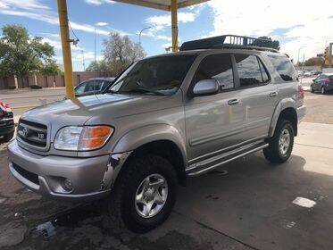 2003 Toyota Sequoia for sale at Fiesta Motors Inc in Las Cruces NM