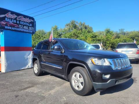 2011 Jeep Grand Cherokee for sale at Auto Outlet Sales and Rentals in Norfolk VA