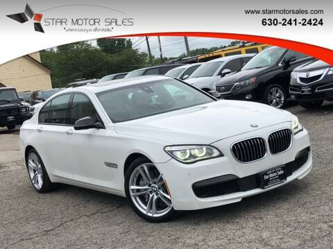 2015 BMW 7 Series for sale at Star Motor Sales in Downers Grove IL