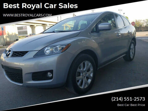2007 Mazda CX-7 for sale at Best Royal Car Sales in Dallas TX