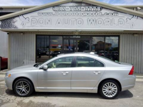 2008 Volvo S80 for sale at Don Auto World in Houston TX