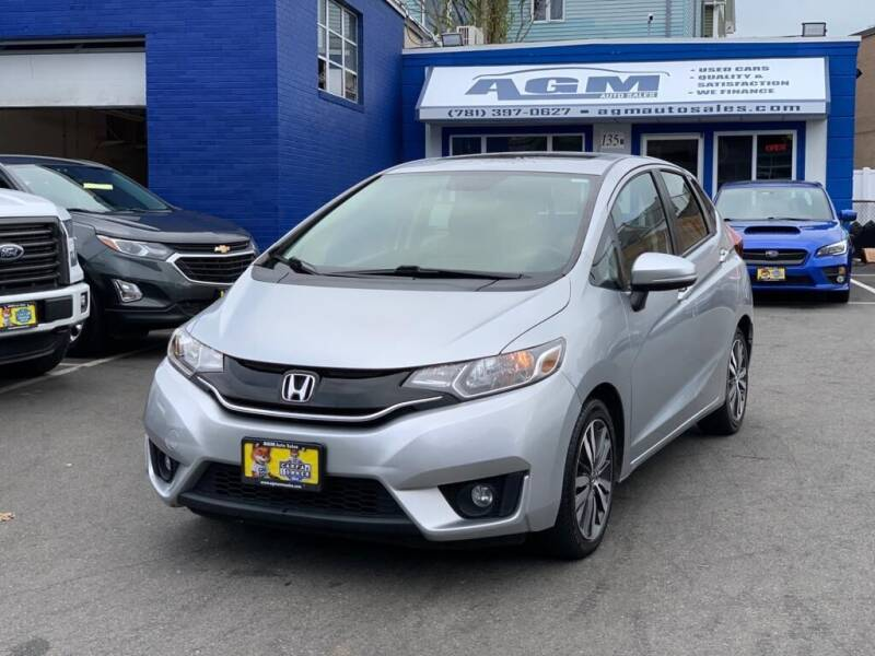 2016 Honda Fit for sale at AGM AUTO SALES in Malden MA