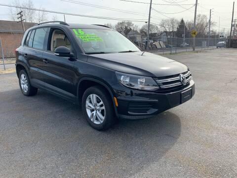 2016 Volkswagen Tiguan for sale at Alpha Motors in Scranton PA