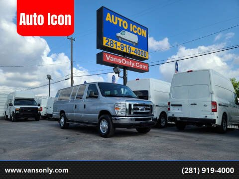 2013 Ford E-Series Cargo for sale at Auto Icon in Houston TX