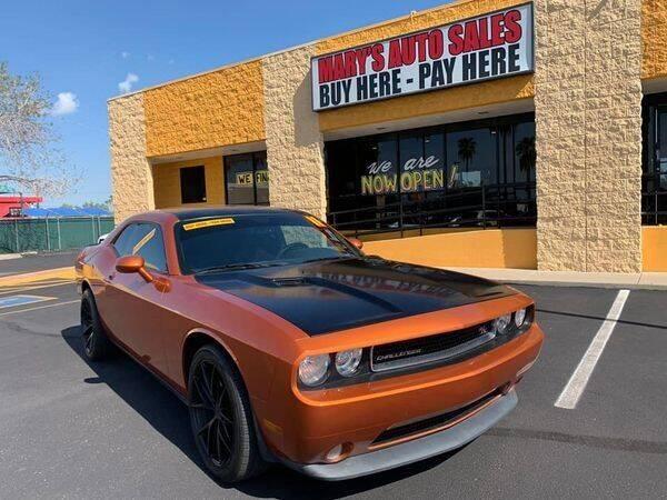 2011 Dodge Challenger for sale at Marys Auto Sales in Phoenix AZ