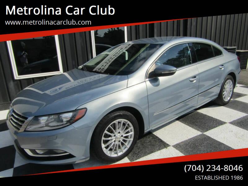 2013 Volkswagen CC for sale at Metrolina Car Club in Matthews NC