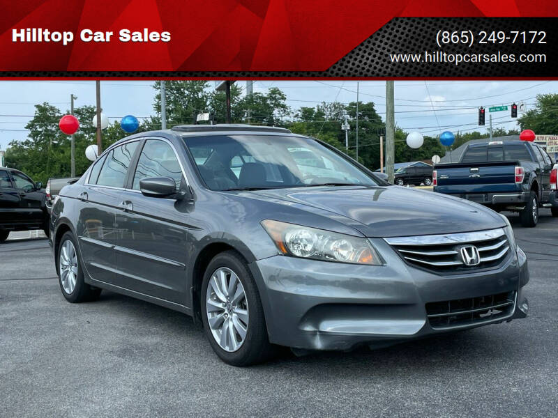 2011 Honda Accord for sale at Hilltop Car Sales in Knoxville TN