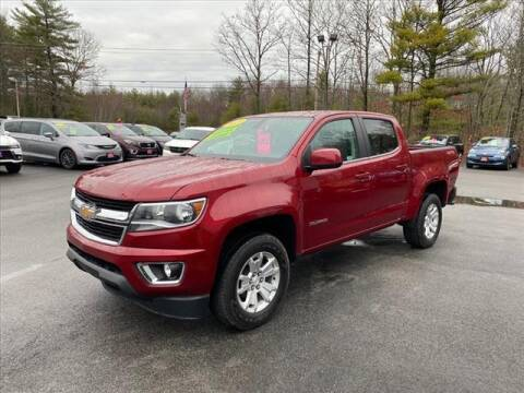 2018 Chevrolet Colorado for sale at North Berwick Auto Center in Berwick ME