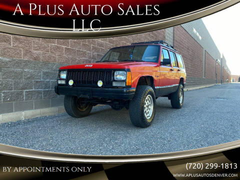 1995 Jeep Cherokee for sale at A Plus Auto Sales LLC in Denver CO