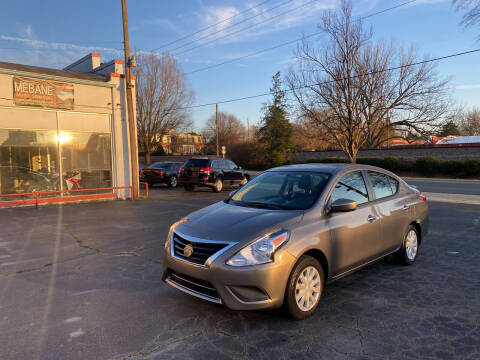 2017 Nissan Versa for sale at Mebane Auto Trading in Mebane NC