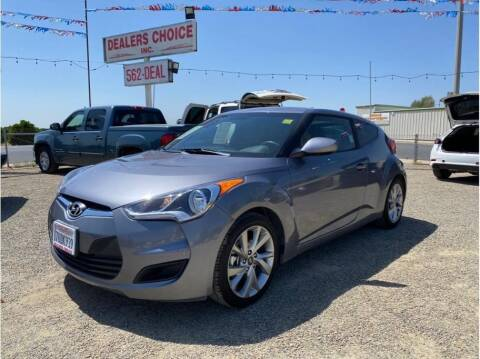 2016 Hyundai Veloster for sale at Dealers Choice Inc in Farmersville CA