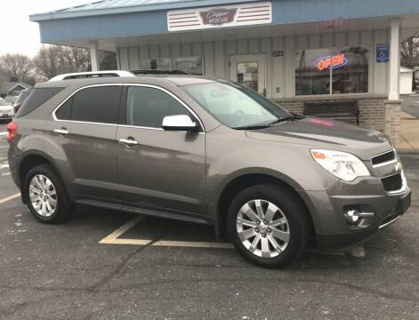 2011 Chevrolet Equinox for sale at Clapper MotorCars in Janesville WI