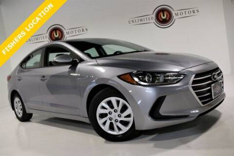 2017 Hyundai Elantra for sale at Unlimited Motors in Fishers IN