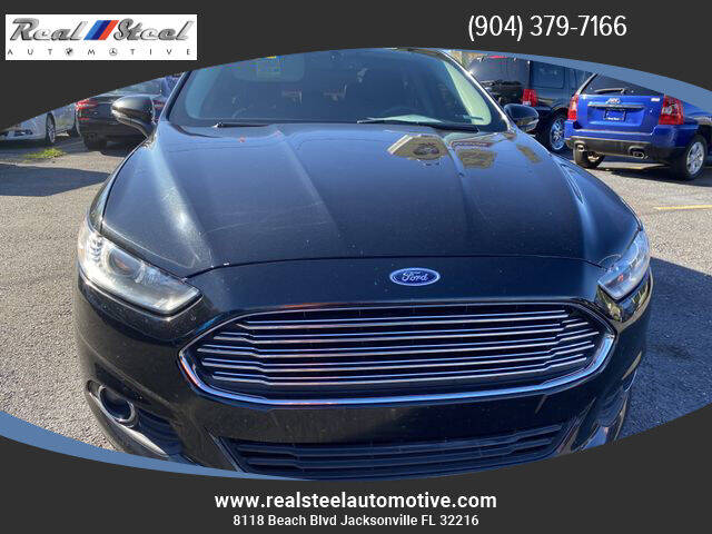 2013 Ford Fusion Energi for sale at Real Steel Automotive in Jacksonville FL