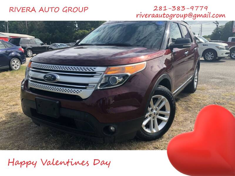 2015 Ford Explorer for sale at Rivera Auto Group in Spring TX