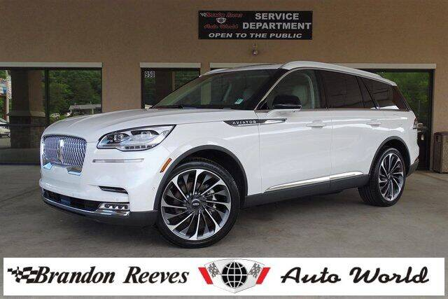 2020 Lincoln Aviator for sale at Brandon Reeves Auto World in Monroe NC
