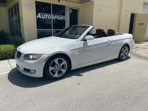 2008 BMW 3 Series for sale at AUTOSPORT in Wellington FL