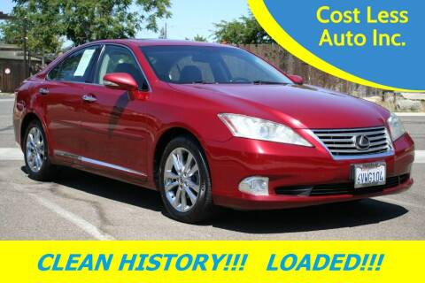 2012 Lexus ES 350 for sale at Cost Less Auto Inc. in Rocklin CA