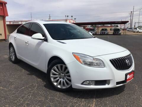 2013 Buick Regal for sale at MAGNA CUM LAUDE AUTO COMPANY in Lubbock TX