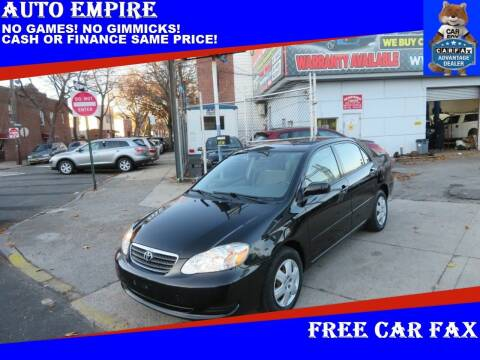 2005 Toyota Corolla for sale at Auto Empire in Brooklyn NY