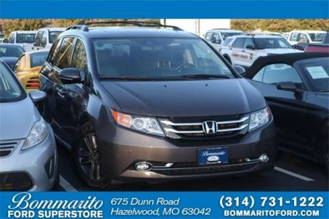 2015 Honda Odyssey for sale at NICK FARACE AT BOMMARITO FORD in Hazelwood MO