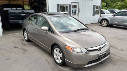 2006 Honda Civic for sale at DISCOUNT AUTO SALES in Johnson City TN