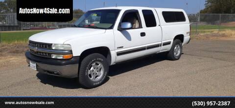 2001 Chevrolet Silverado 1500 for sale at AUCTION SERVICES OF CALIFORNIA in El Dorado CA