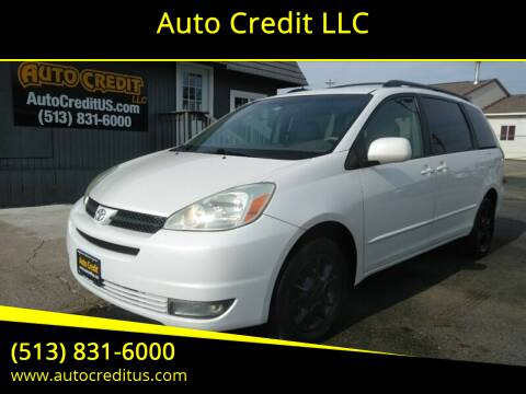 2005 Toyota Sienna for sale at Auto Credit LLC in Milford OH