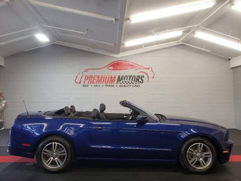 2013 Ford Mustang for sale at Premium Motors in Villa Park IL