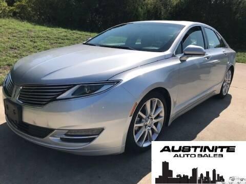 2015 Lincoln MKZ for sale at Austinite Auto Sales in Austin TX