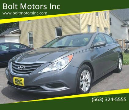 2013 Hyundai Sonata for sale at Bolt Motors Inc in Davenport IA