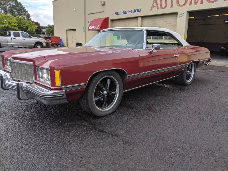 1974 Chevrolet Caprice for sale at Teddy Bear Auto Sales Inc in Portland OR