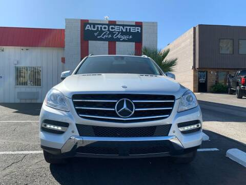 2015 Mercedes-Benz M-Class for sale at Auto Center Of Las Vegas in Las Vegas NV