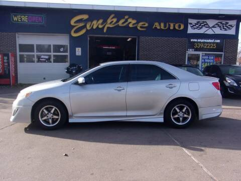 2012 Toyota Camry for sale at Empire Auto Sales in Sioux Falls SD
