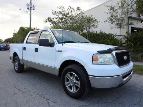 2008 Ford F-150 for sale at SUPER DEAL MOTORS in Hollywood FL