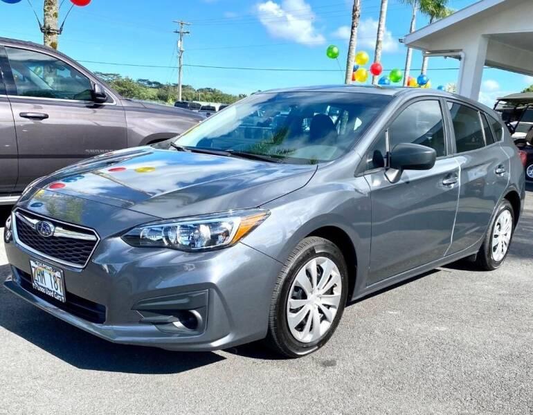 2019 Subaru Impreza for sale at PONO'S USED CARS in Hilo HI