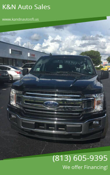 2019 Ford F-150 for sale at K&N Auto Sales in Tampa FL