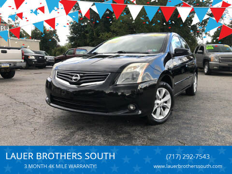 2012 Nissan Sentra for sale at LAUER BROTHERS SOUTH in York PA
