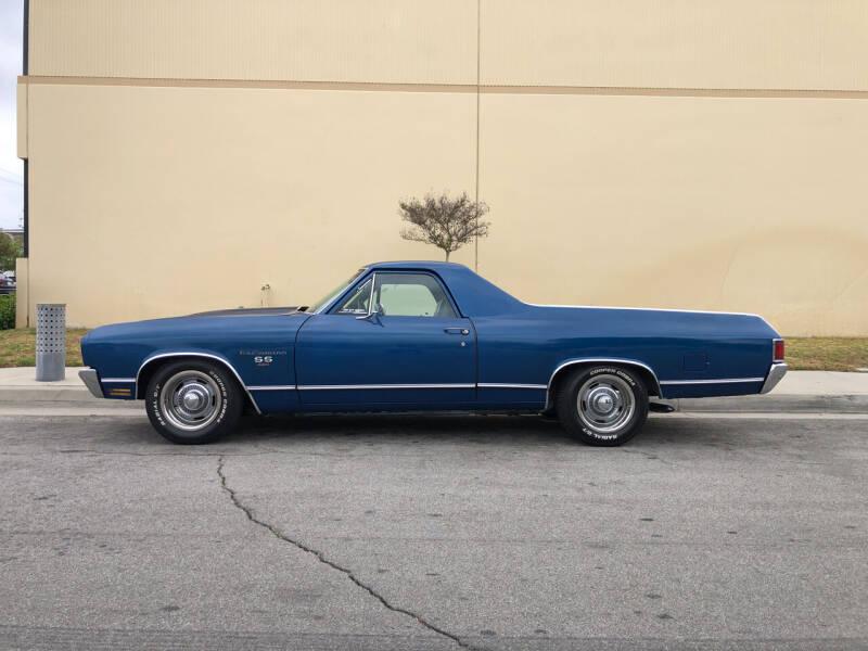 1970 Chevrolet El Camino for sale at HIGH-LINE MOTOR SPORTS in Brea CA