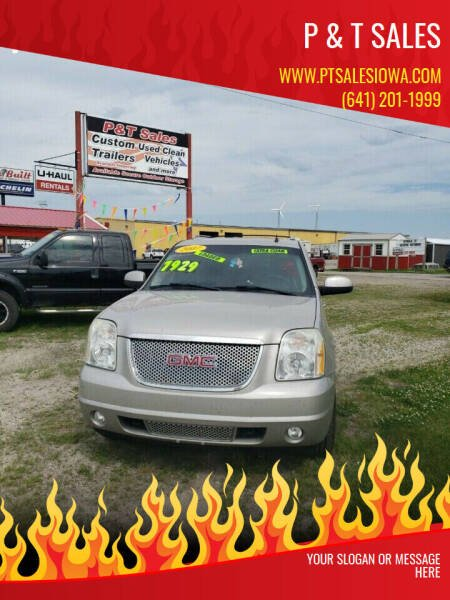 2007 GMC Yukon XL for sale at P & T SALES in Clear Lake IA