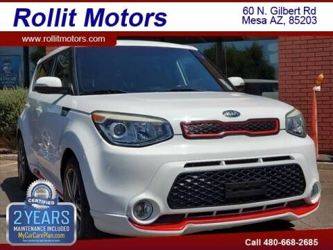2014 Kia Soul for sale at Rollit Motors in Mesa AZ