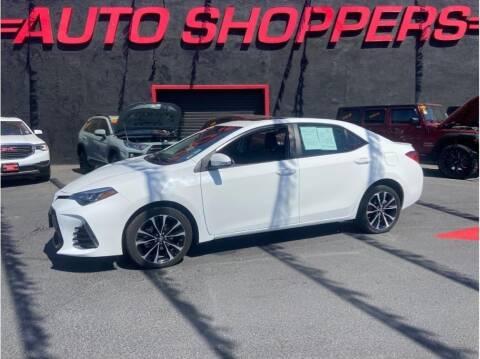 2018 Toyota Corolla for sale at AUTO SHOPPERS LLC in Yakima WA
