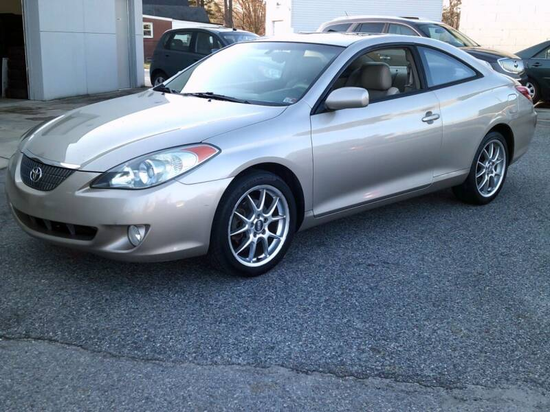 2004 Toyota Camry Solara for sale at Wamsley's Auto Sales in Colonial Heights VA