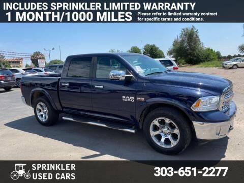 2014 RAM Ram Pickup 1500 for sale at Sprinkler Used Cars in Longmont CO