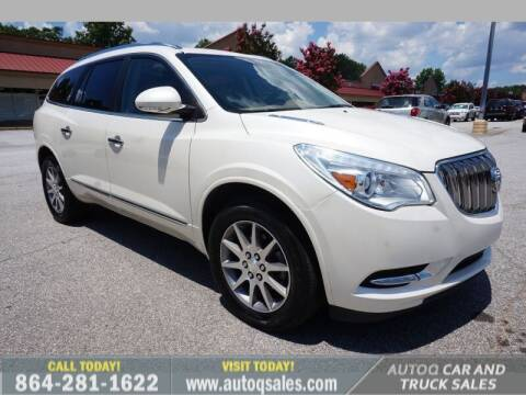 2013 Buick Enclave for sale at Auto Q Car and Truck Sales in Mauldin SC