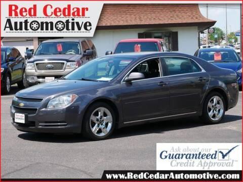 2010 Chevrolet Malibu for sale at Red Cedar Automotive in Menomonie WI